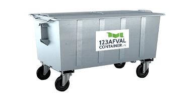 Container gemengd afval prijs